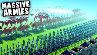 Download lagu MASSIVE Armies NEW Creative Mode Update MP3