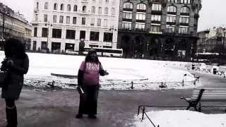 Russian Orthodox church... American Street Preacher