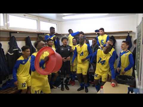 Cri de Guerre - Match de coupe de Paris U15 Entente Sannois Saint Gratien vs Creteil, 29 01 18