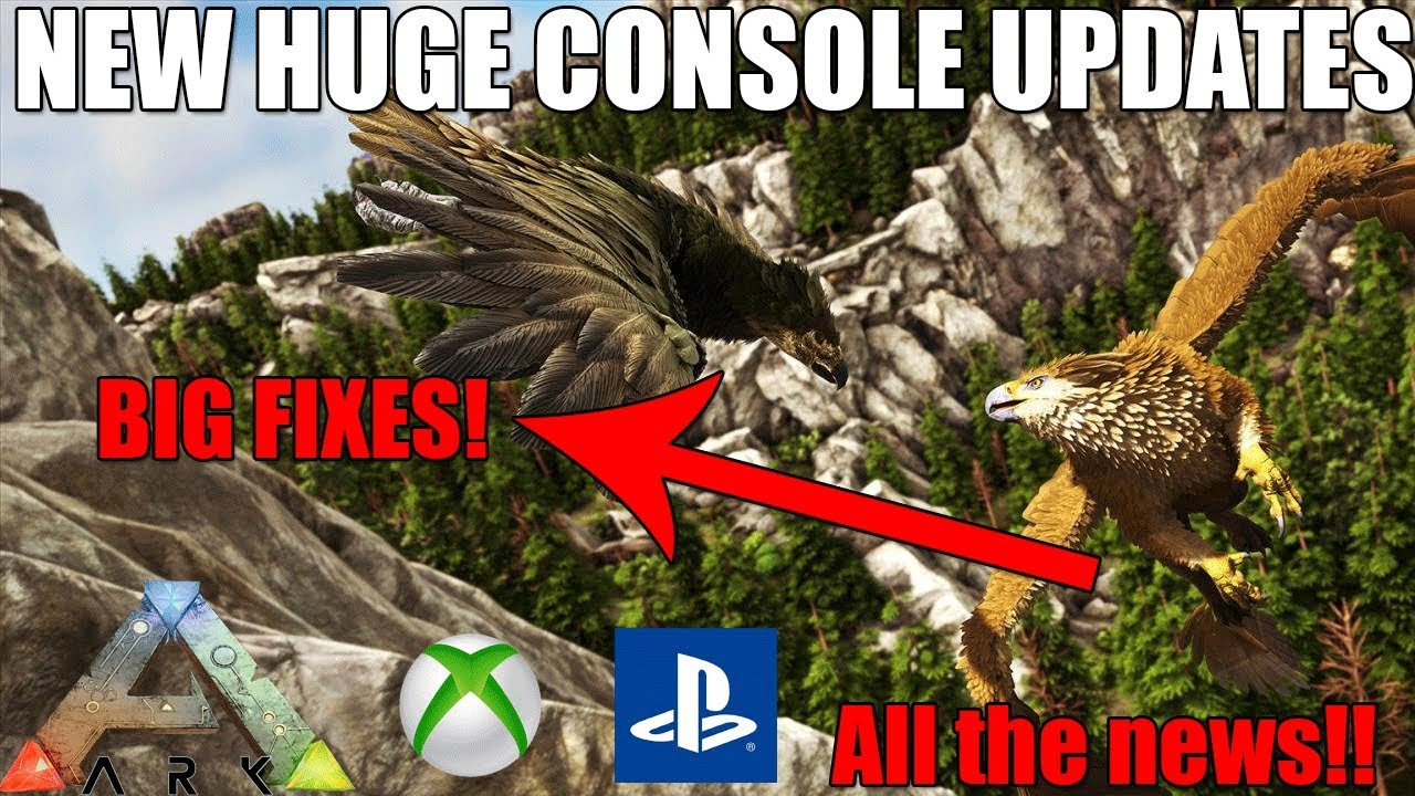 ARK - HUGE CONSOLE UPDATE - DEDICATED SERVER FIX AND MORE! (Ark Survival  Evolved News)