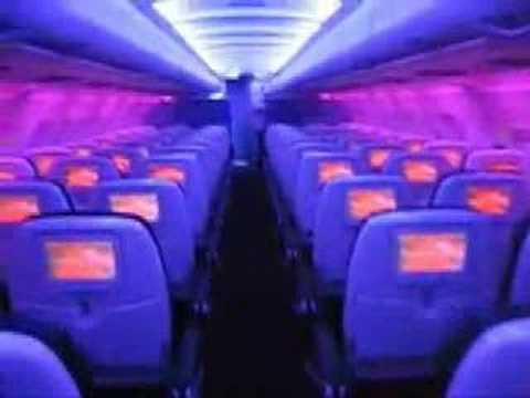 Jaunted Virgin America Plane Tour Youtube