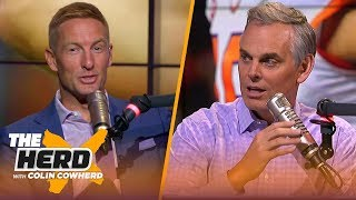 Lincoln Riley has the best offensive mind, Brian Kelly is underrated - Joel Klatt | CFB | THE HERD