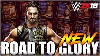 WWE 2K18 - Road To Glory (New Game Mode)