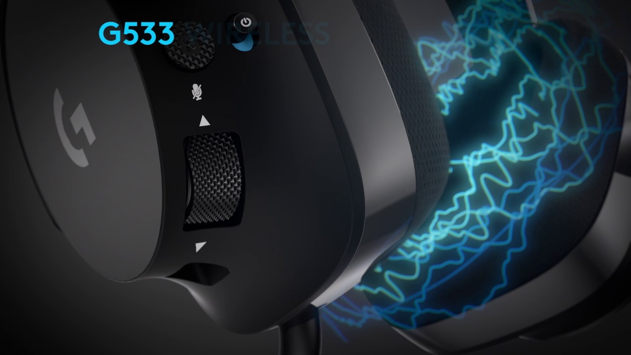 how to set up logitech g533 for pubg