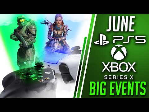 NEW Xbox Series X June 2020 Event Details | PS5 Game Reveals Coming In June