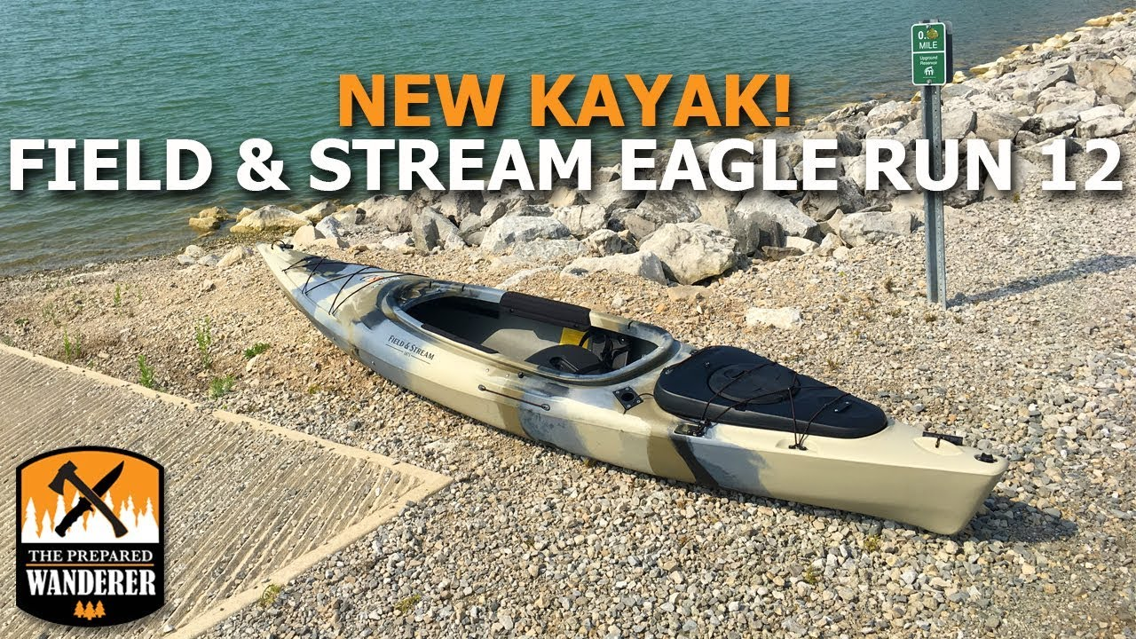 New Kayak Field And Stream Eagle Run 12 First Review Youtube