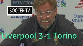 Liverpool 3-1 Torino | Jurgen Klopp Post Match Press Conference | Pre Season