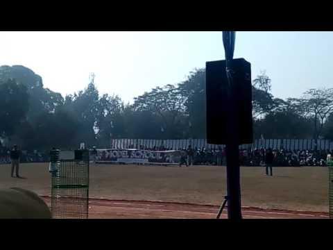 Republic Day 2017 modal school Bhind, Manya Sharma