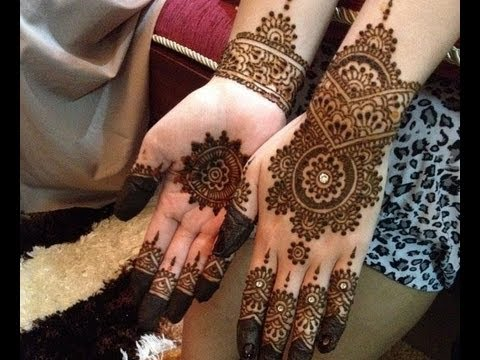Easy and Cute Henna Design For Beginners, Step By Step Description Of The Design