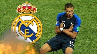 Mbappe gibt Real Madrid Korb !