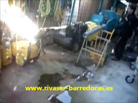 Rivaser barredoras limpieza de tuber a con rat n - Desatascador de tuberias a presion ...
