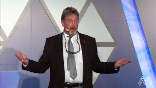 John Mcafee | Marketing & Investment Conference | AIBCsummit 2018