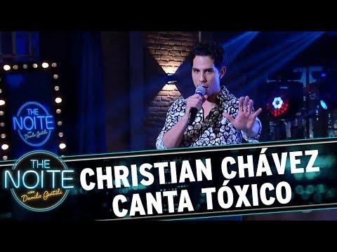 Christian Chávez canta Tóxico | The Noite (10/10/17)