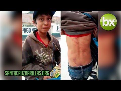 Niño es obligado a trabajar en San Pedro Soloma