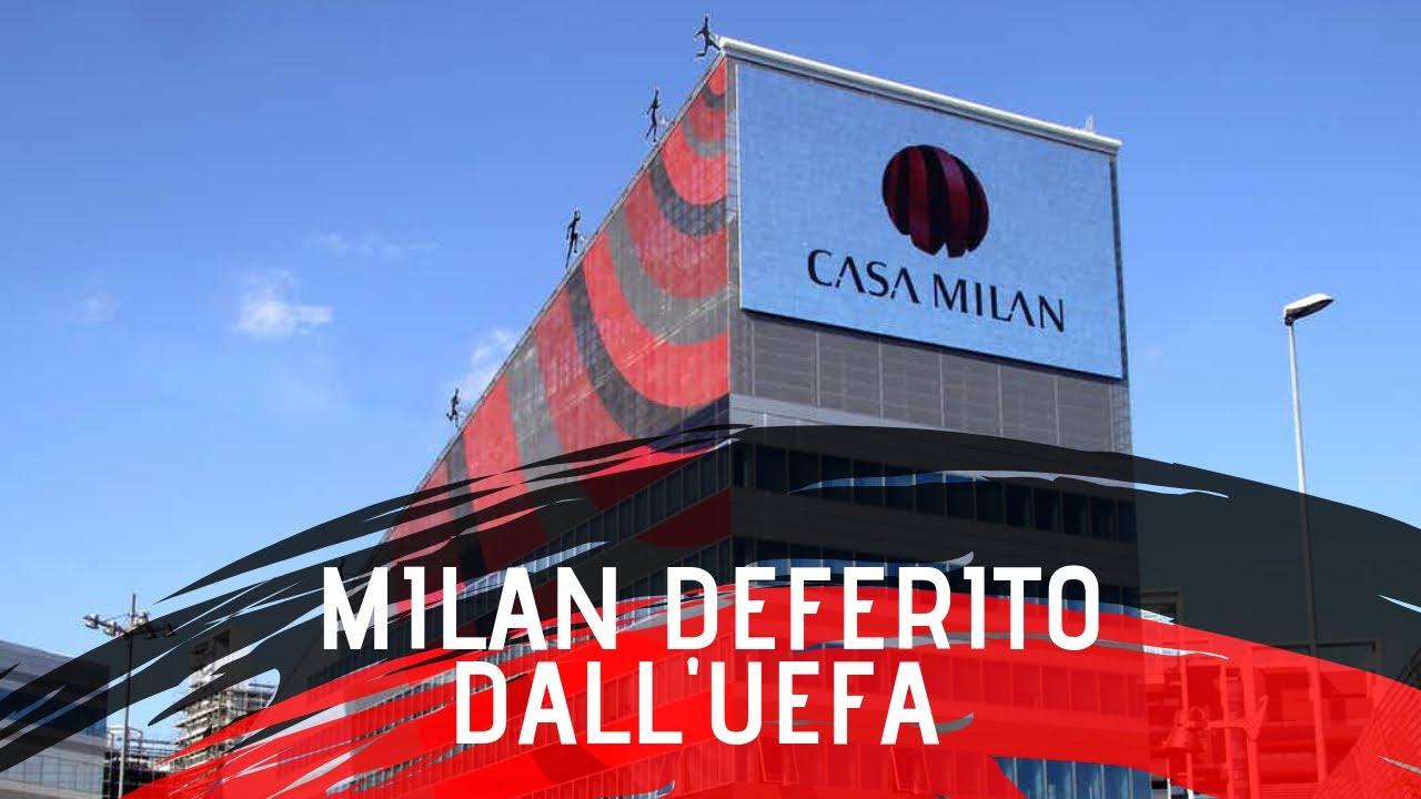 MILAN DEFERITO DALL' UEFA!