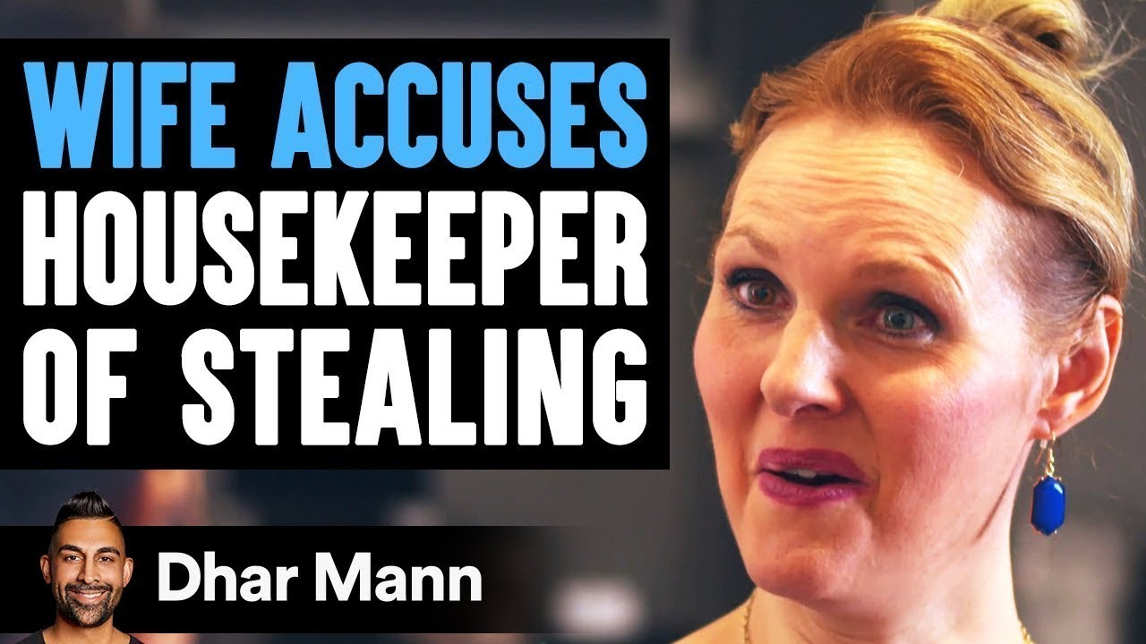 Wife Accuses Maid Of Stealing, Then Learns The Shocking Truth | Dhar Mann
