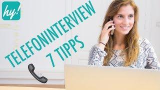 Vorstellungsgespräch am Telefon #2 - Telefoninterview führen