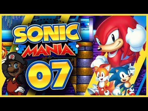 Sonic Mania w/ PKSparkxx! (Knuckles Playthrough) - Part #7 (Hydrocity Zone)