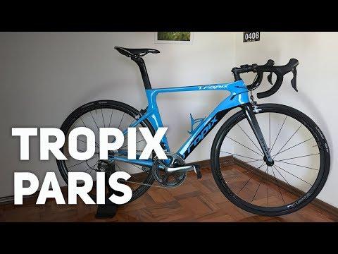 Opinião de uso da speed Tropix Paris | Revista Ride Bike