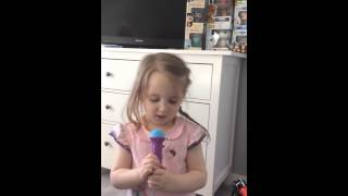 Lilias rendition of Frozen Let it go - Frozen Boombox