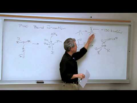 Chemistry 202. Organic Reaction Mechanisms II. Lecture 06. The Organic Chemistry Of Phosphorus
