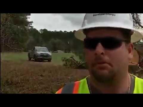 Atlantic Coast Pipeline Cutting Dreams. Landowner Confronts- Tree Cutting