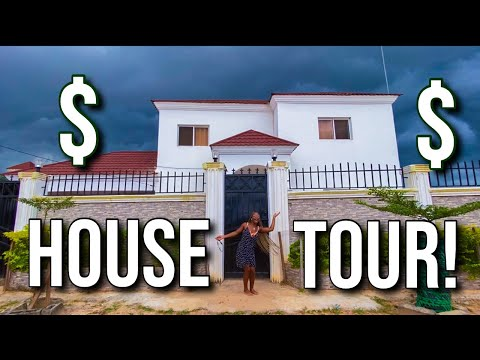 20th Birthday MANSION TOUR in GAMBIA!