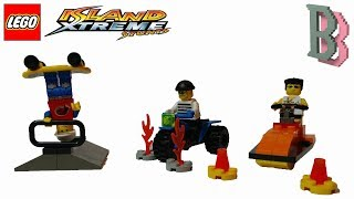 LEGO Island Xtreme Stunts 6731, 6732, 6733 Pepper Brickster Snap - Unboxing & Review 2002