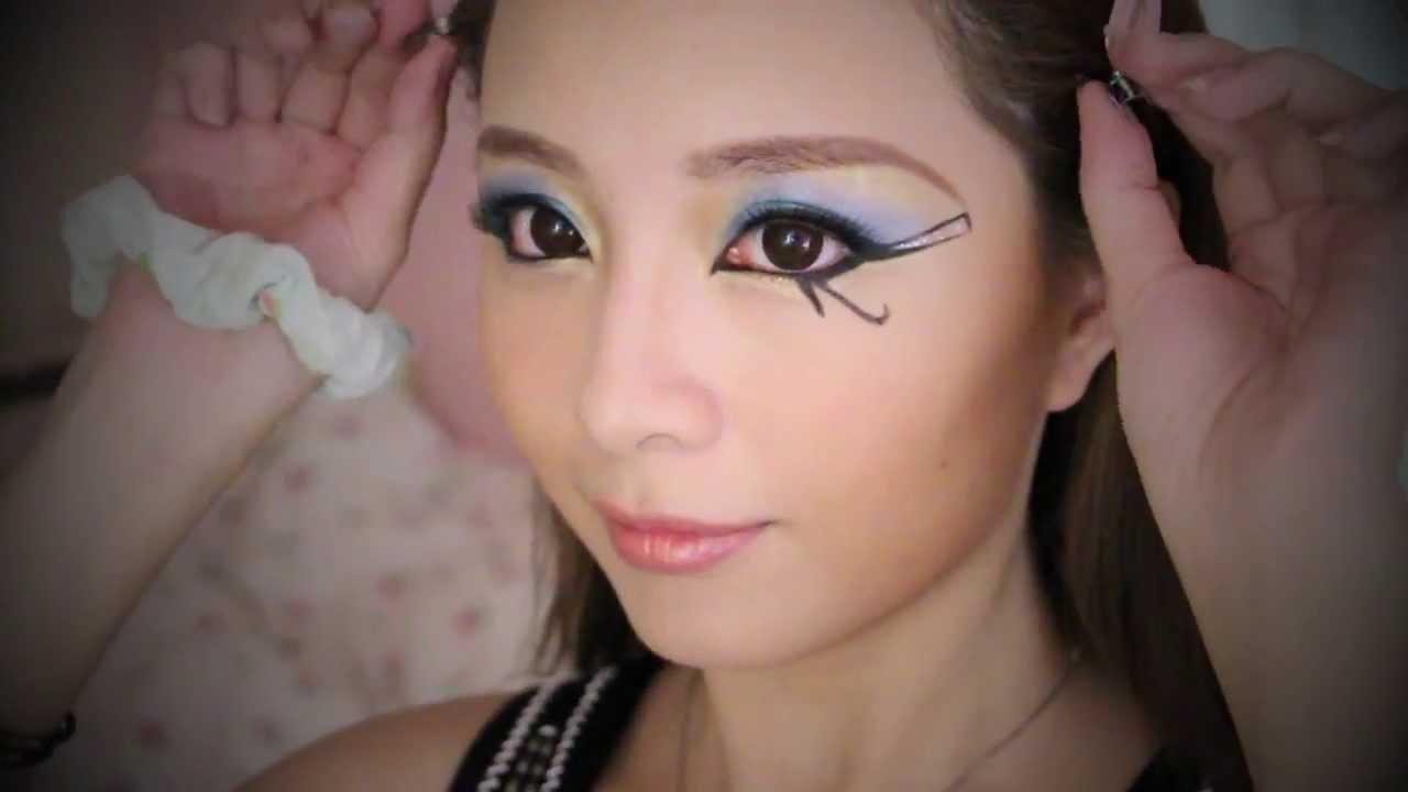 Sasa.com x Katy Beauty Room】 Vol. 34: Halloween Egyptian Makeup ...