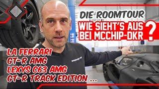Roomtour durch die heiligen Hallen von mcchip-dkr | Chiptuning | Motorsport