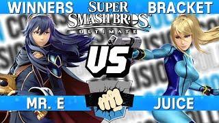 Smash Ultimate Tournament Set - Mr. E (Lucina) vs Juice (Zero Suit Samus) - Collision 2019
