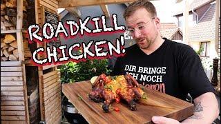 TANDOORI CHICKEN grillen. Roadkill Chicken mit selbstgemachter Joghurtmarinade!