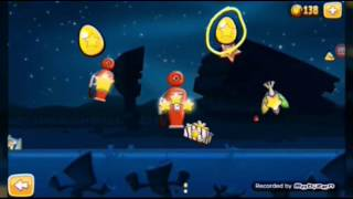 Angry Birds Seasons - Invasion Of The Egg Snatchers (GOLDEN EGGS)