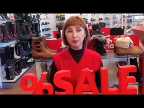 Приглашаем на распродажу в Салон Немецкой Обуви Rieker по адресу г.Уфа, пр.Октября, 82
