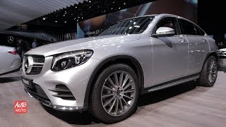2019 Mercedes GLC 250 4Matic Coupe - Exterior And Interior Walk-around - 2018 Paris Motor Show