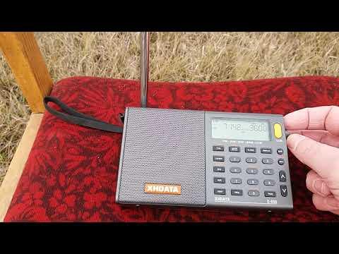 Радиолюбительские диапазоны в SSB на XHDATA D-808
