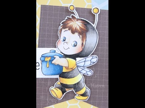 Bee Henry Copic Coloring Card Kit