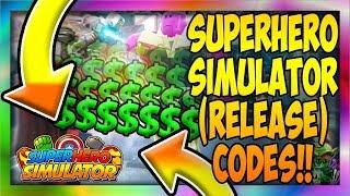 *1* CODE [NEW] 👊💥 Superhero Simulator (RELEASE) [Roblox]