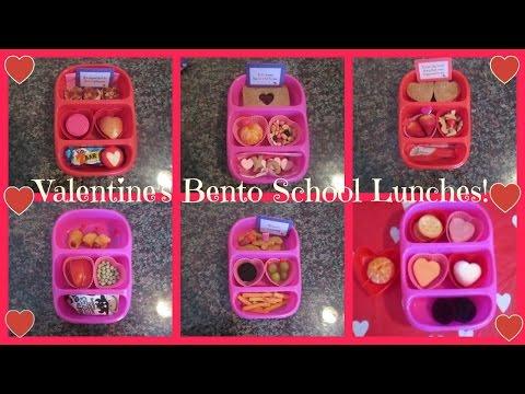 Valentine's Bento School Lunch!Lunababyvlogs