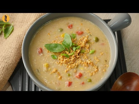 Creamy Chicken Tikka Rice Soup Recipe By Food Fusion