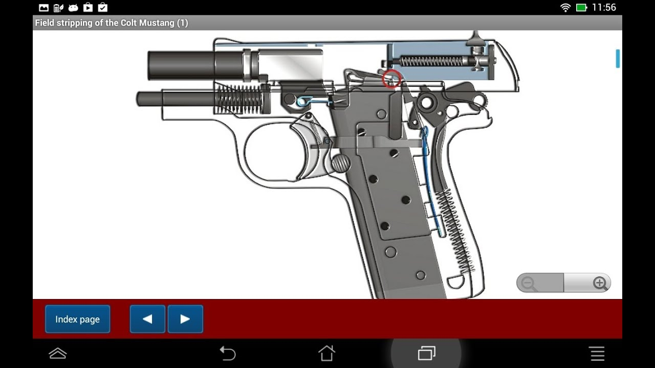 Colt Model Quot Mustang Quot Explained Android App Hlebooks