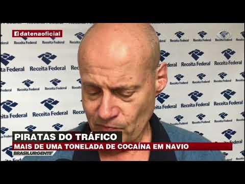 Piratas exportam drogas através de grandes navios