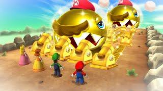 Mario Party 9 Boss Rush - Luigi Vs Mario Vs Peach Vs Toad (Master Difficulty)