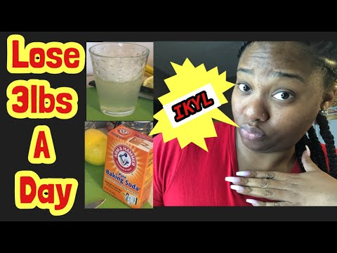 Baking Soda and Lemon Cleanse/ Lose 3lbs A Day!