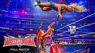 FULL MATCH Charlotte vs Becky Lynch vs Sasha Banks WWE Women s Title Match WrestleMania 32