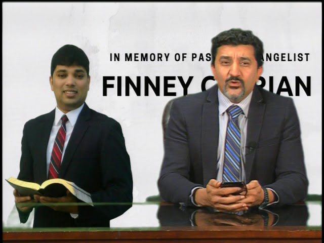 The Cross TV Memorial of Pastor - Evangelist Finney Cherian  06-01-2018