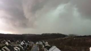 Hail yes! Severe storm hits with 60 mph on Feb 25