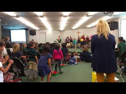 2017 11 Christopher Chapel Operation Christmas Child at Santa Clara Christian School