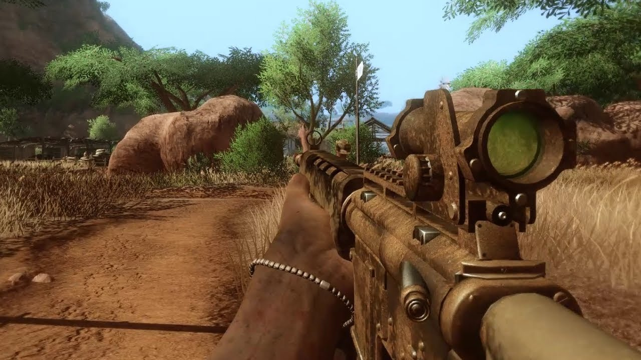 Far Cry 2 Aggressive Gameplay 3 Youtube