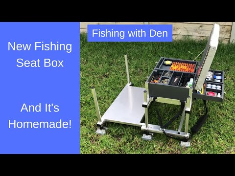 New Fishing Seat Box - Homemade